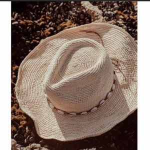 The Reese Raffia Rancher Hat